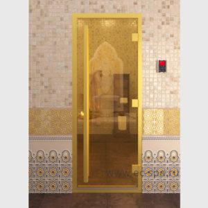 Дверь серия престиж, хамам золото