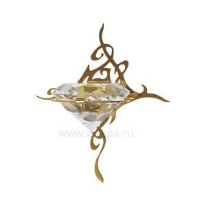 Светильник для паровой Cariitti Kihla, золото