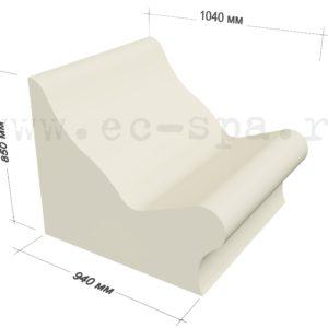 Сидение – лежак «Форма» («Forma»)