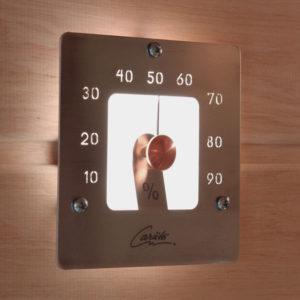 Гигрометр Cariitti SQ, нержавеющая сталь