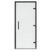 Дверь EOS для сауны 1900х700 прозрачное стекло, профиль антрацит