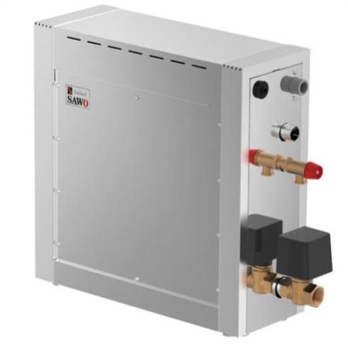 Парогенератор для хамама Sawo STN-45-DFP-X. 4,5 кВт