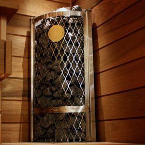 Печь для сауны Corner IKI 7,6 кВт