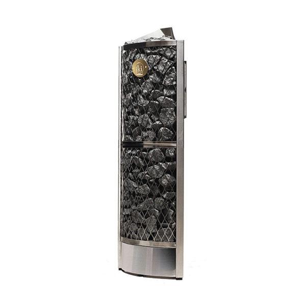 Печь для сауны Corner IKI 7,6 кВт (140 кг камней)