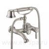 Смеситель для ванны ZORG A 200W-SL античное серебро