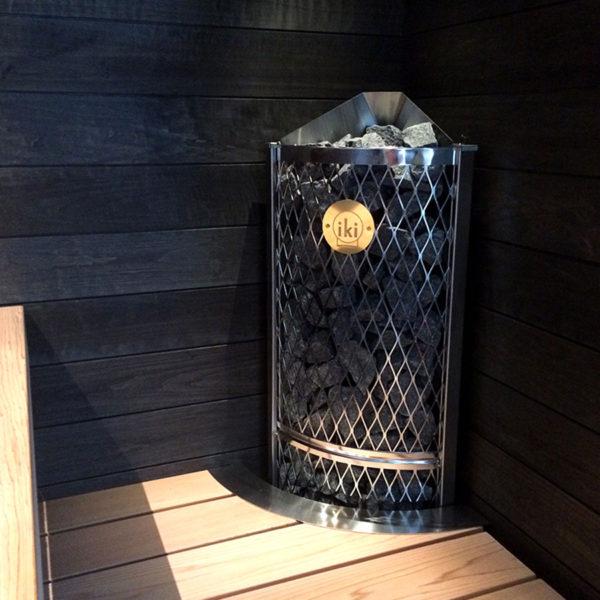Угловая печь для сауны Corner IKI 9 кВт