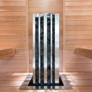 Фланец для встраивания, нержавеющая сталь, 560