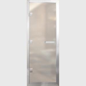 Дверь для хамама стекло сатин