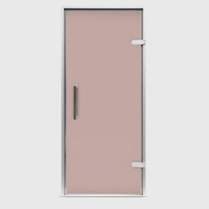 Дверь EOS для хамама стекло бронза