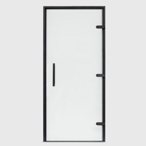 Дверь EOS для Хамама прозрачное стекло, профиль антрацит