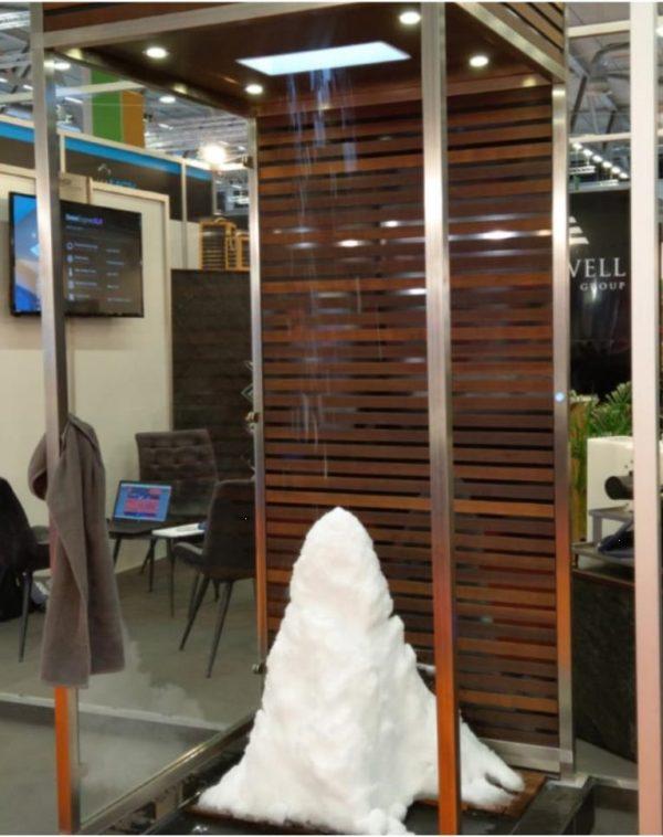 Cнегогенератор MSK SNOWMACHINE в интерьере