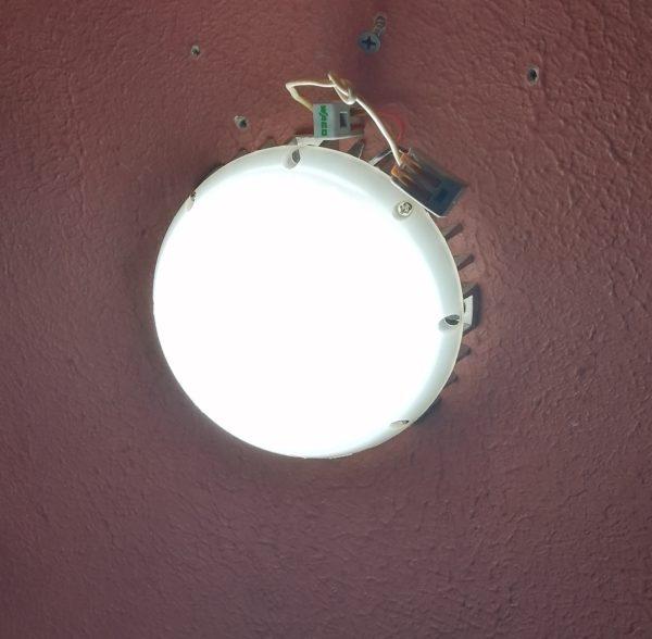 Светодиодный светильник для хамама 6W