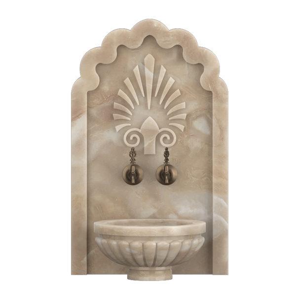 Арка мраморная АМ18 для курны в хамам