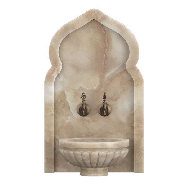 Арка мраморная АМ30 для курны в хамам