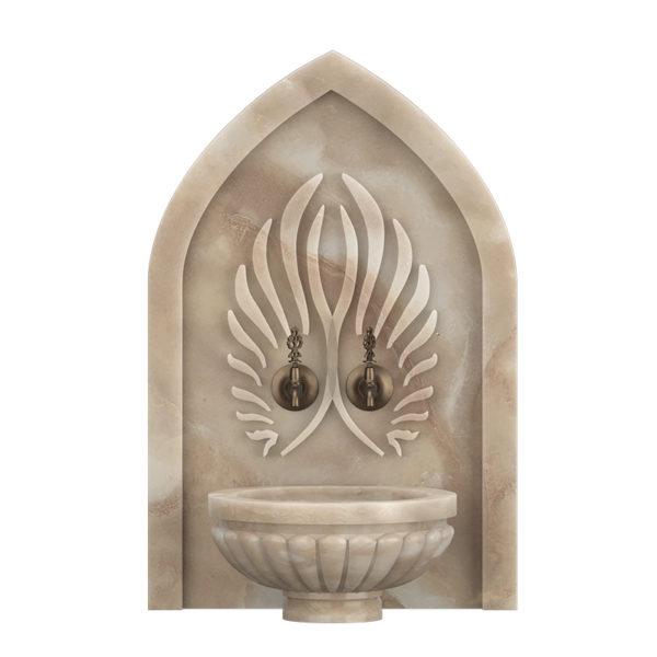 Арка мраморная АМ45 для курны в хамам