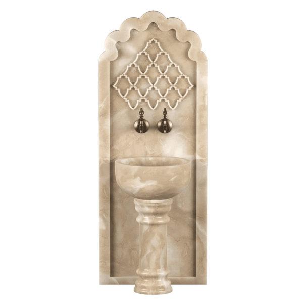 Арка мраморная AM111 для курны в хамам