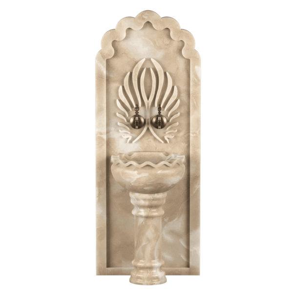 Арка мраморная AM115 для курны в хамам