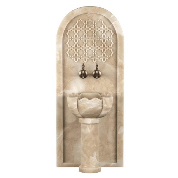 Арка мраморная AM123 для курны в хамам