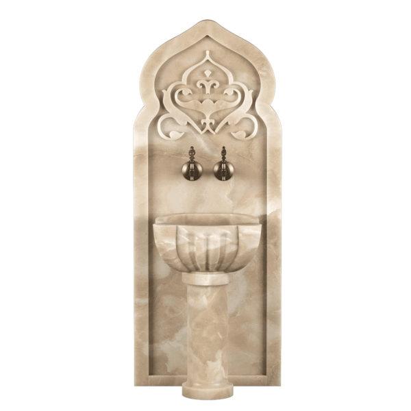 Арка мраморная AM136 для курны в хамам