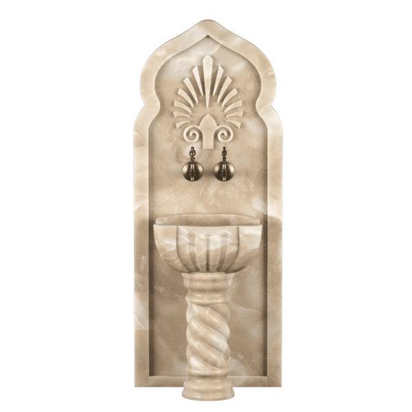 Арка мраморная AM138 для курны в хамам