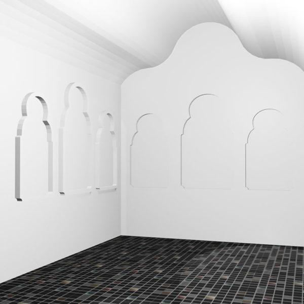 Восточная арка купол для хамам_02