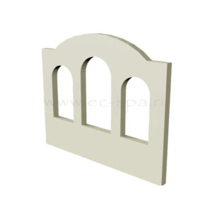 Декор для стен в хамам. Вариант 1