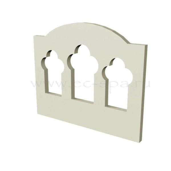Декор для стен в хамам. Вариант 03
