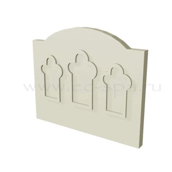 Декор для стен в хамам. Вариант 04