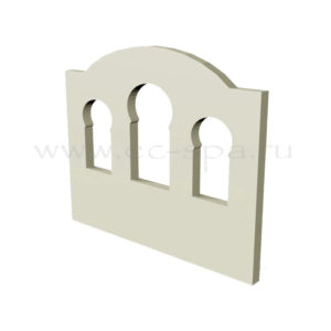 Декор для стен в хамам. Вариант 7