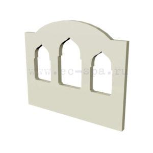 Декор для стен в хамам. Вариант 9