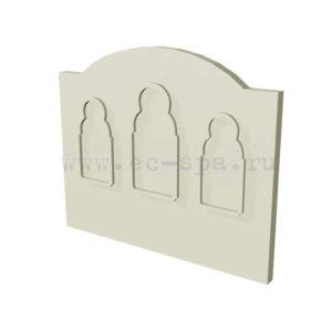 Декор для стен в хамам. Вариант 12
