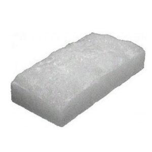 Белый кирпич с натуральной стороной 200 х 100 х 50