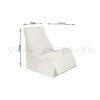 Лежак Лигэ для хамам купить на ec-spa.ru с размерами