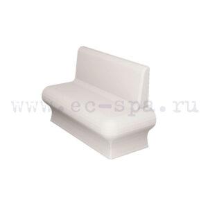 Варианты закругление и соединений мебели в хамам