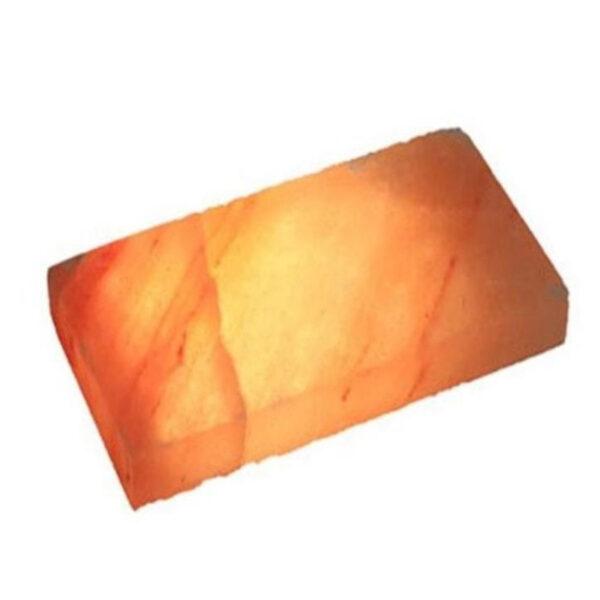 Плитка шлифованная 200 х 100 х 25 из розовой гималайской соли