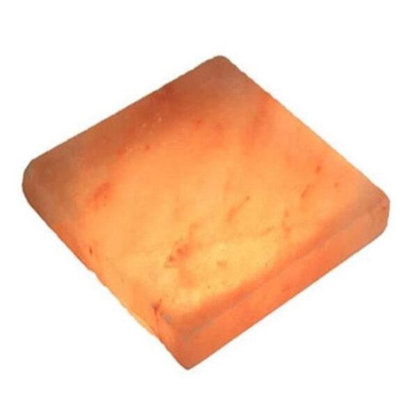 Плитка шлифованная 200 х 200 х 25 из розовой гималайской соли